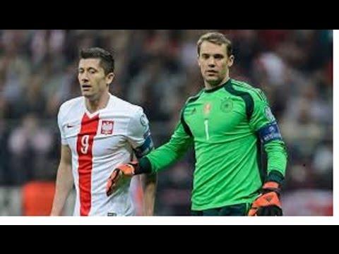 Manuel Neuer & Robert Lewandowski
