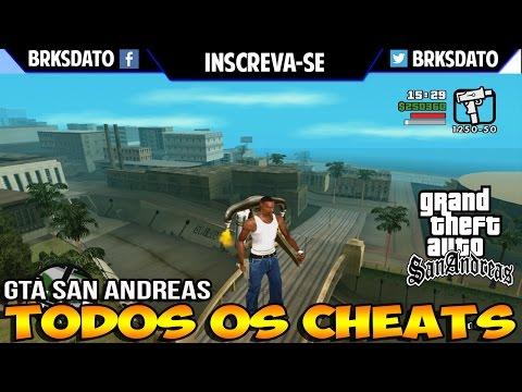 → Códigos GTA San Andreas XBOX 360 【Completo 2019 】