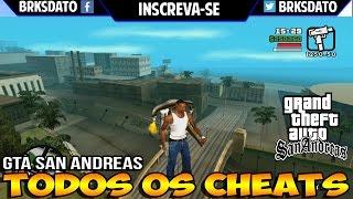 CHEATS - GTA SAN ANDREAS - CHEATS/CODIGOS/TRAPAÇAS XBOX-360 REMAKE