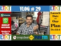 Vlog # 29 Whatsapp Group Decided, Plan Launch Date Decided, Paytm Airtel Merger, Job Posting On Face