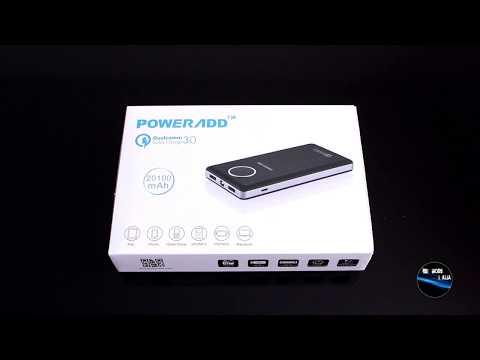 [ Mini - Recensione ] POWERADD Power Bank da 20100mAh con supporto Qualcomm Quick Charge 3.0