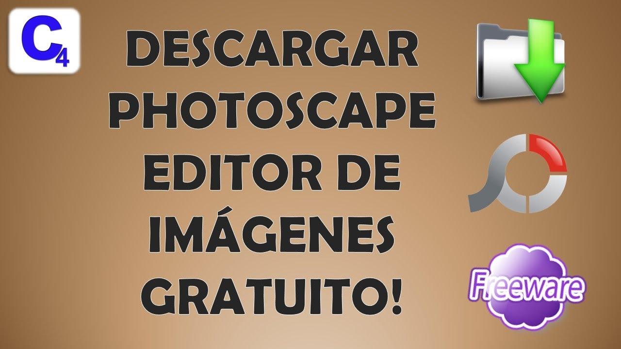 Descargar PhotoScape editor de Imagenes Gratis - YouTube
