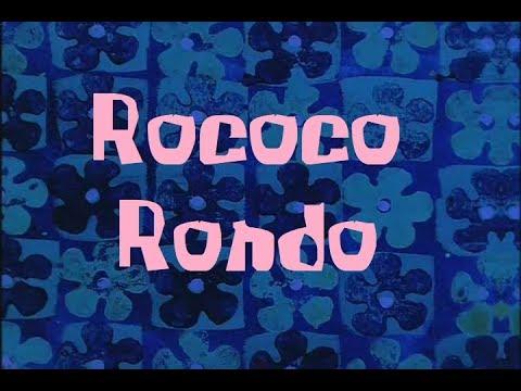 SpongeBob Production Music Rococo Rondo