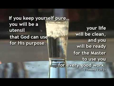 2 Timothy 2:20-21 - YouTube