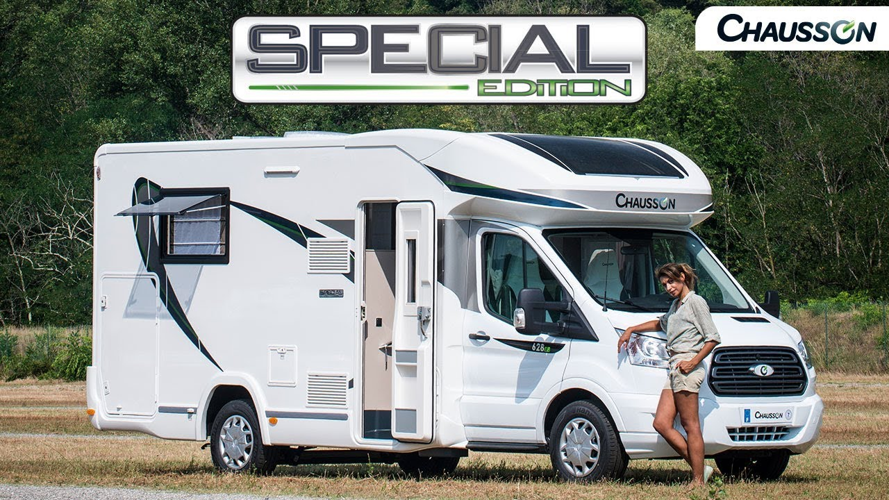 Special Edition 2018 Chausson Camping Cars Youtube