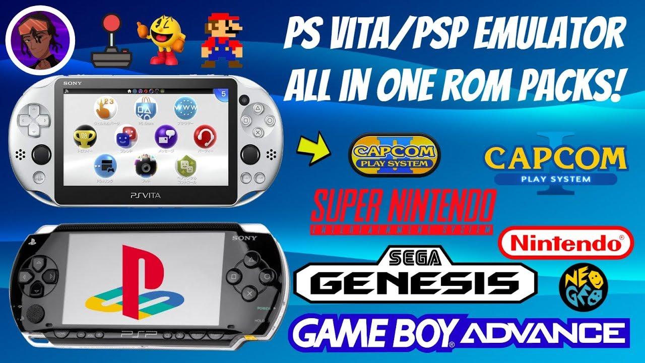 Ps Vita Psp Emulator All In One Packs 2020 Snes Sega Nes