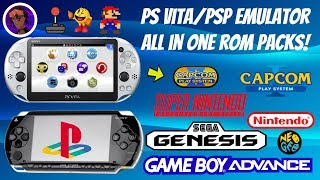 PS Vita/PSP Emulator All In One Packs 2019! 🎮👾 (SNES/Sega/NES/GBA + More) #HENkaku #PSP #PSVita