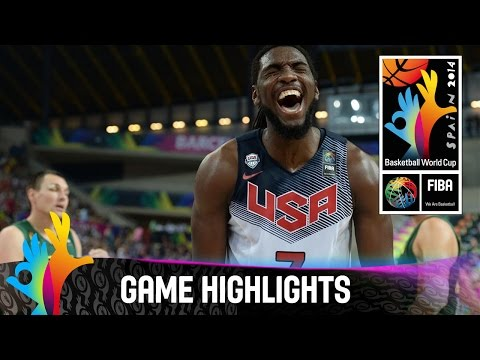 USA v Lithuania - Game Highlights - Semi Final - 2014 FIBA Basketball World Cup