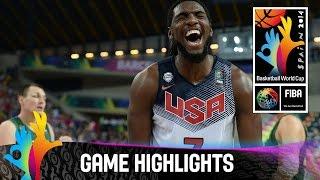 USA v Lithuania - Game Highlights - Semi Final - 2014 FIBA Basketball World Cup