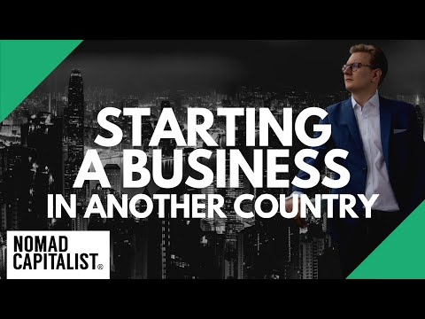 How To Start A Business Outside Of The US