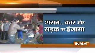Dehradun: Watch High Voltage Drama of a Drunk Girl on Streets