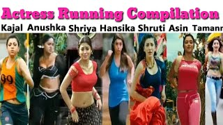 South Indian Actress Running Compitation - Who is Best? By Scenes Adda