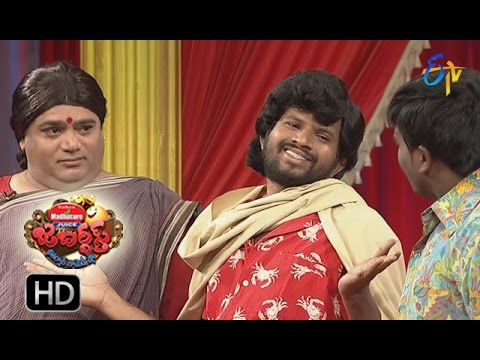 Hyper Aadi Raising Raju Performance | Jabardsth | 19th January 2017| ETV  Telugu