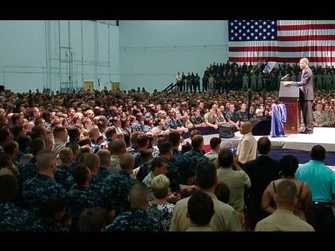 President Obama Speaks to Military Personnel in Pensacola, FL