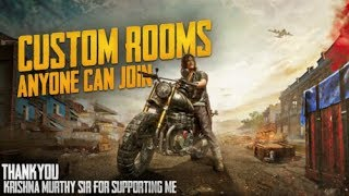 🔴PUBG Mobile Live  Unlimited Custom Rooms 🔴 | UC Giveaway #pubg | Paytm On Screen | Alpha | mortal
