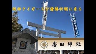 参拝ライダーが行く!虎の優勝祈願 廣田神社 thumbnail