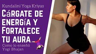 Kundalini YOGA para Equilibrar al Aura 💫 - por Yogi Bhajan [Ejercítate #CONMIGO #QuédateEnCasa 🏡 ]