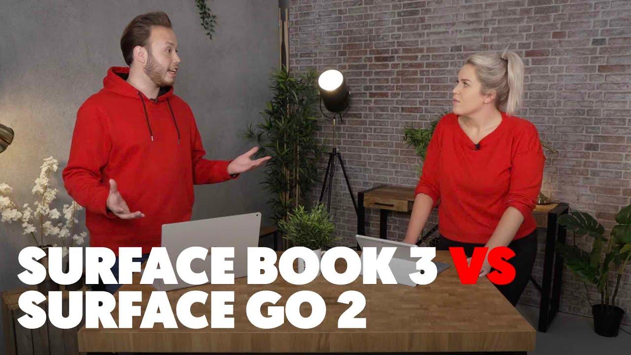 Welke moet je Kiezen? | Microsoft Surface Book 3 VS Surface Go 2