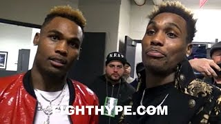 JERMELL AND JERMALL CHARLO REACT TO ERROL SPENCE STOPPING LAMONT PETERSON: