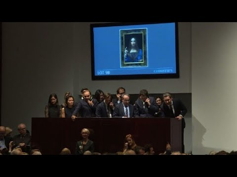 Da Vinci painting sells for $450mn in NY: Christie's