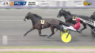 Vidéo de la course PMU PRIX UNO SWEDS MINNESLOPP - STL GULDDIVISIONEN, FORSOK 1 I MEETING 7