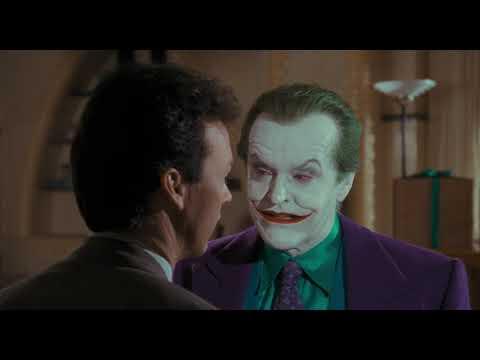 Bruce Wayne Talks With Joker | Batman [4k, 30th Anniversary Edition]