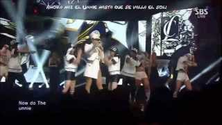 CL - THE BADDEST FEMALE Live SBS Inkigayo ((Sub Español))