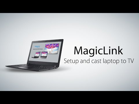 How To Setup And Cast Laptop To TV With MagicLink