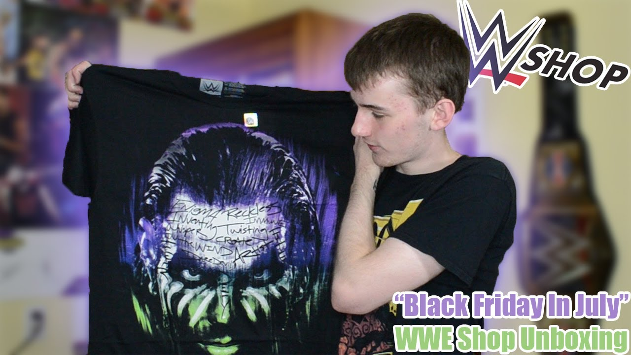 "WWE Shop Unboxing | ""Black Friday In July"" Edition"