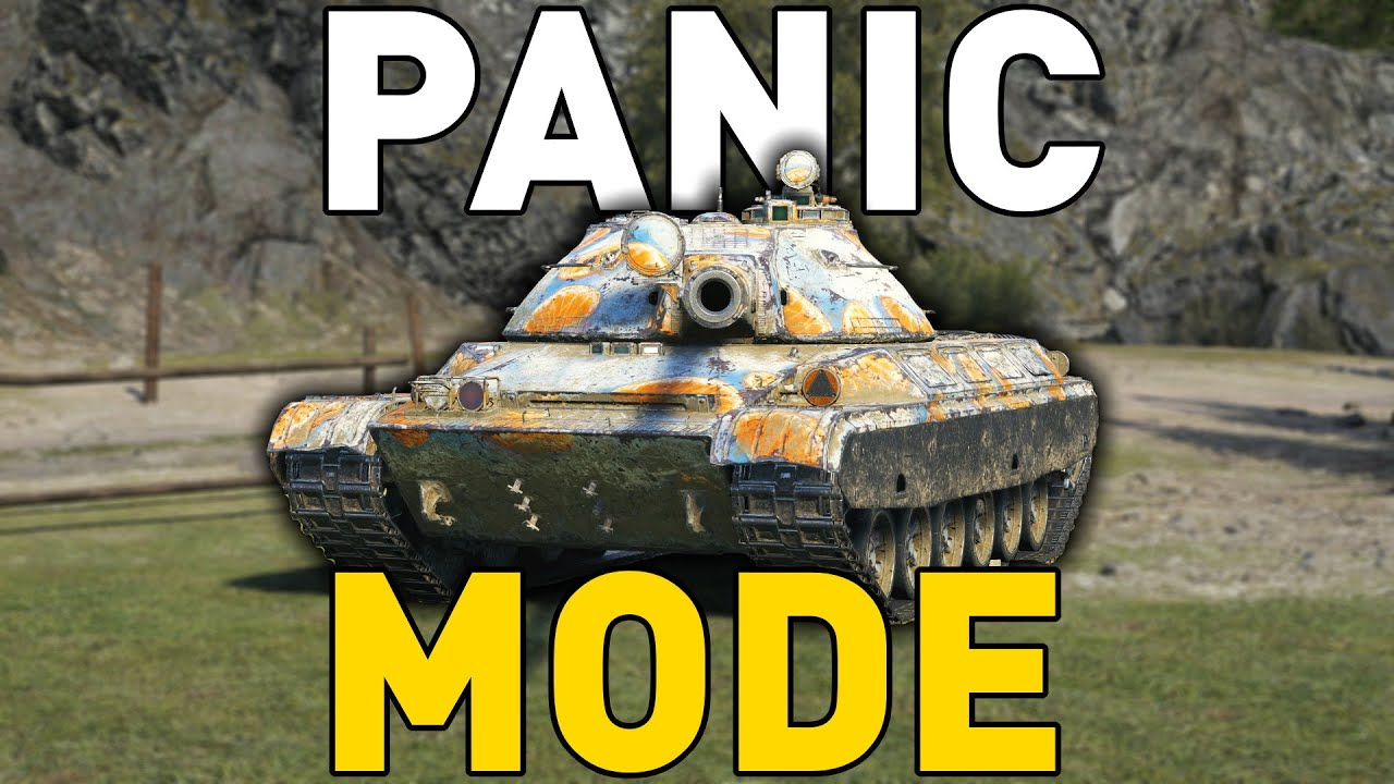 PANIC MODE in World of Tanks!