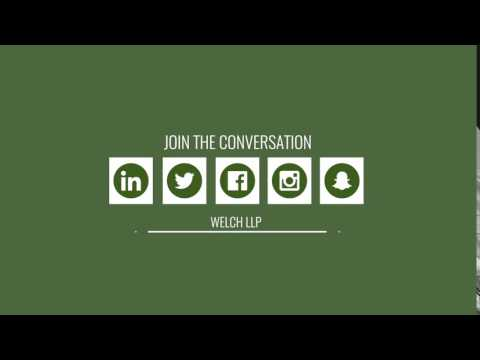 Connect with Welch LLP on Social Media