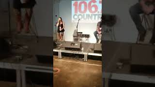 Kane brown country 106.7 interview