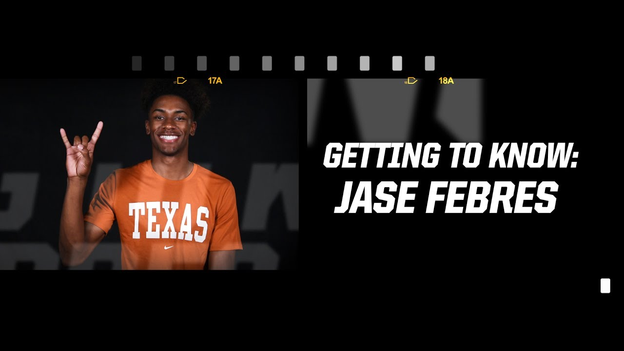getting to know men s basketball s jase febres june 28 2017 youtube