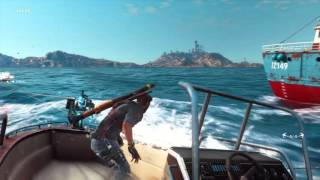 Just Cause 3 Tethered Boats