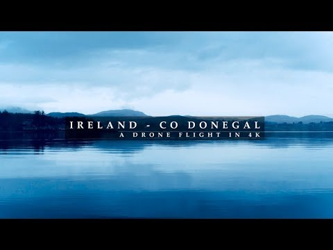 IRELAND, County Donegal - A Drone Film 4K
