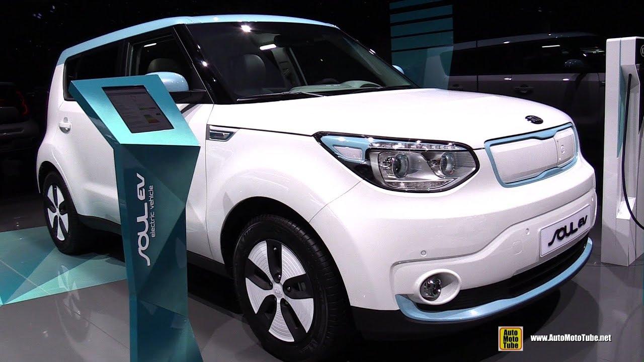 2018 Kia Soul Ev Electric Vehicle Exterior And Interior Walkaround