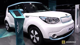 2018 KIA Soul EV Electric Vehicle - Exterior and Interior Walkaround - 2018 Geneva Motor Show