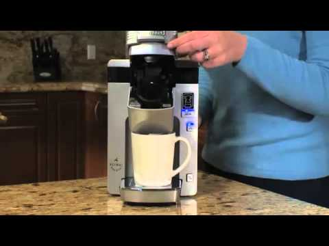 Decalcifying Your Cuisinart Ss 300 Single Serve Brewing System Youtube