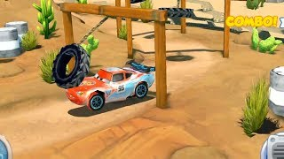 Disney Pixar Cars Race #30 - Lightning Mcqueen vs Shifty vs Francesco Bernoulli
