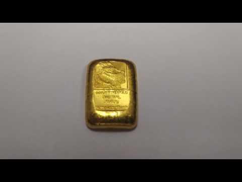 Hong Kong Bank One Tael Gold Coin 999.9 Fine Gold