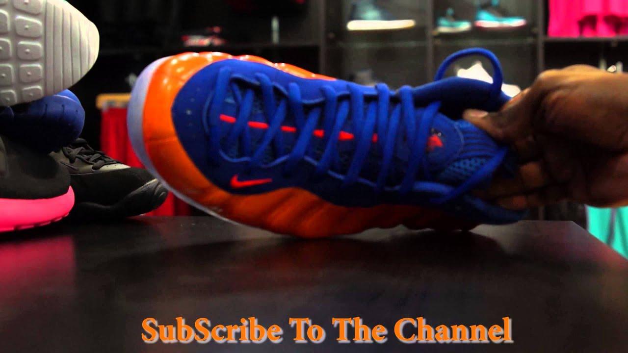 "1062f62e6a568 Nike Air Foamposite One ""NY Knicks"" - YouTube"