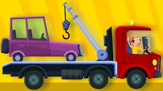 the tow truck song | original song | nursery rhymes | kids rhymes | learn transport