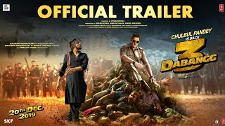 Dabangg 3: ( Trailer) Chulbul Pandey is Back | Salman Khan | Sonakshi Sinha | Prabhu Deva | 20th Dec
