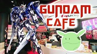 Akihabara's Gundam Cafe~秋葉原のガンダムカフェ