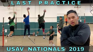 Last Practice Before USAV Nationals 2019 | Volleyball Practice (5/16/19)