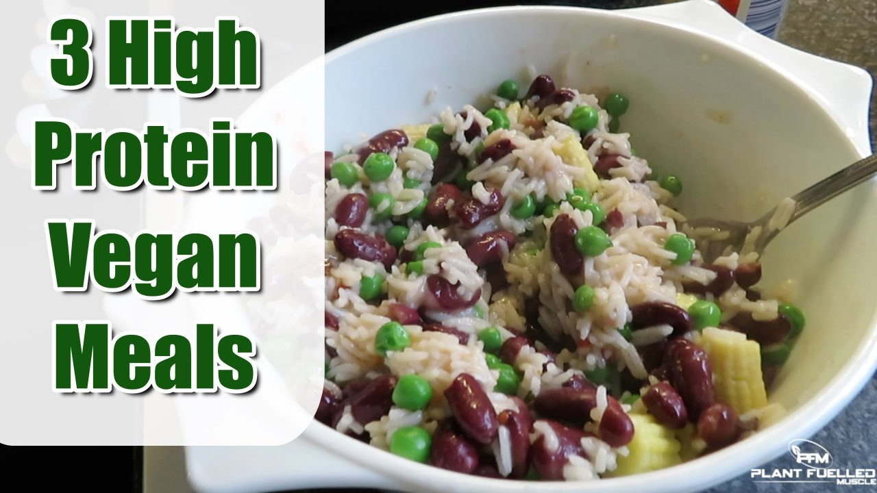 3 high protein vegan meals easy simple affordable youtube 3 high protein vegan meals easy simple affordable forumfinder Images