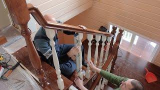 Деревянные лестницы на заказ.(Деревянные лестницы на заказ. Заходите на сайт: http://lestnici-darin.ru. - - - - - Деревянные лестни..., 2016-03-24T18:22:56.000Z)