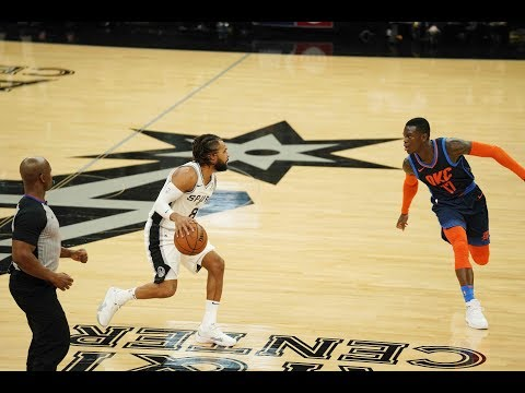 The Spurs make their first fourteen 3-Pointers vs OKC