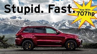Jeep TrackHawk - Stupid. Fast. - Fast Blast Review | Everyday Driver