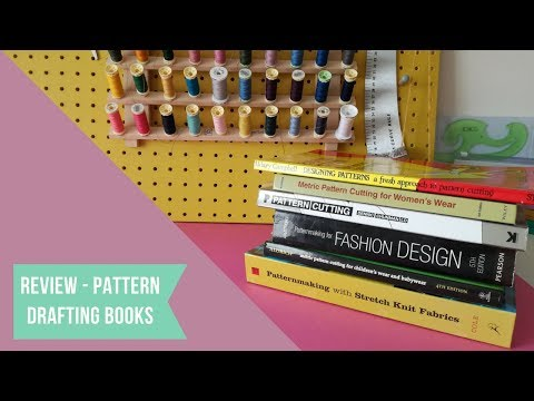 ✂ Review: My favourite pattern cutting and drafting books